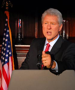 President Clinton Celebrity Impersonator Pic